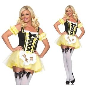 Leg Avenue Lil Miss Goldilocks Costume Size M/L